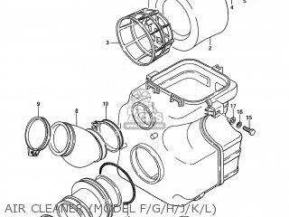 air cleaner (model f/g/h/j/k/l)