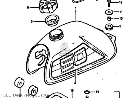 Suzuki Lt50 1984 E Parts Lists And Schematics