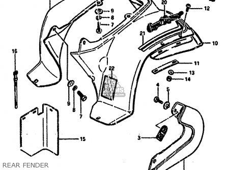 Suzuki Lt50 1984 E Parts Lists And Schematics