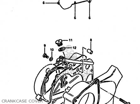 Ktm 250 And 525 Sx Mxc Exc Electrical System 2000 2003 further Partslist besides 1989 Honda Accord Fuse Box Diagram together with Mercedes 380sl Fuel Pump Wiring besides Vacuum Diagram Toyota Tercel 2e 13cc Carburado. on suzuki engine cooling diagram