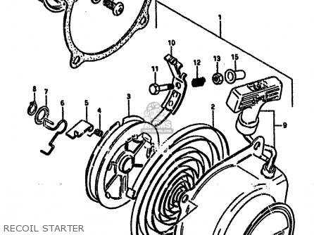 Suzuki 50 Atv Engine Diagram