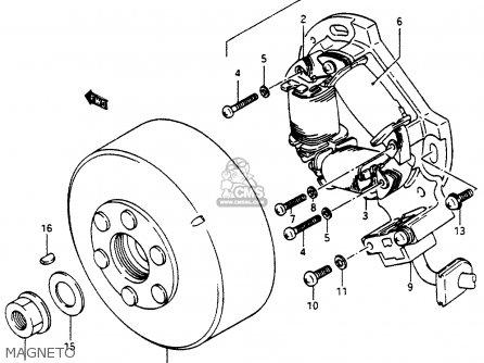 Suzuki    Lt500    1989  rk  parts list partsmanual partsfiche