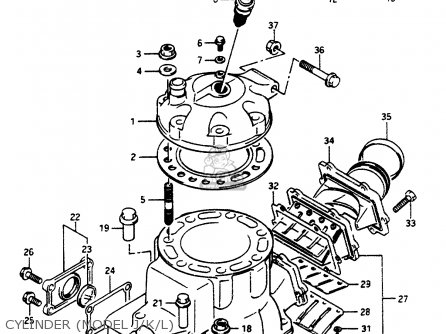 Suzuki Lt500r 1987 H Parts Lists And Schematics