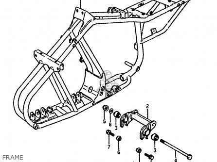 Suzuki Lt80 1990 l Frame
