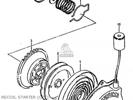 Suzuki Lt80 1990 l Recoil Starter opt