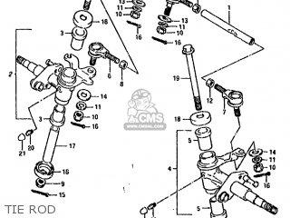 Suzuki Lt80 1990 l Tie Rod