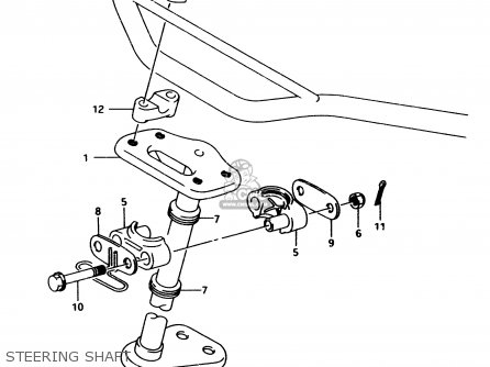 Suzuki Lt80 1996 t Steering Shaft
