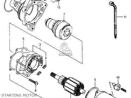 suzuki lt80 1998 w parts lists and schematics. Black Bedroom Furniture Sets. Home Design Ideas