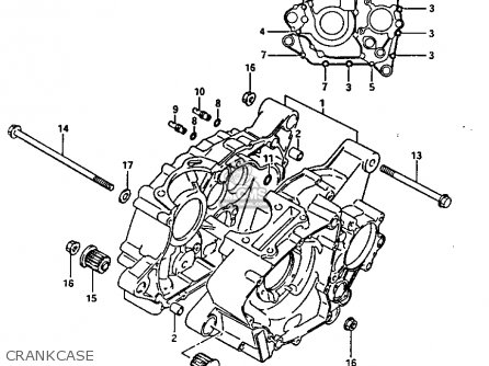 Diagram Of Suzuki Atv Parts 1987 Ltf230 Wiring Harness Diagram