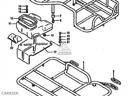 Suzuki Ltf4wd 1987 h Carrier