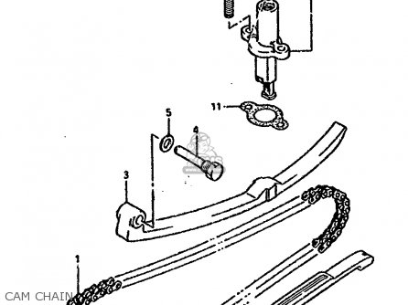 Suzuki Ltf4wd 1989 k Cam Chain