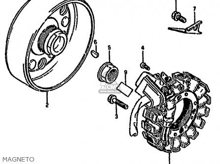 Suzuki Ltf4wd 1993 p Magneto