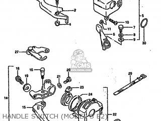 Suzuki Ltf4wd 1993 p United Kingdom Sweden Australia e02 E17 E24 Handle Switch model S E2
