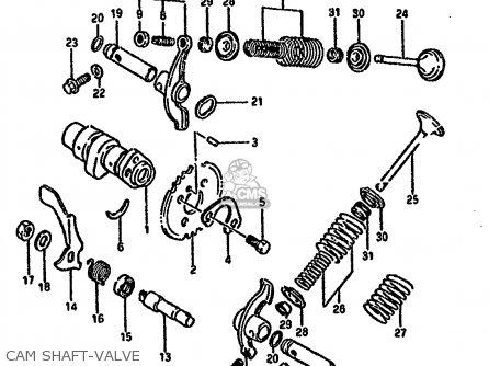 Suzuki Ltf4wd 1994 r Cam Shaft-valve