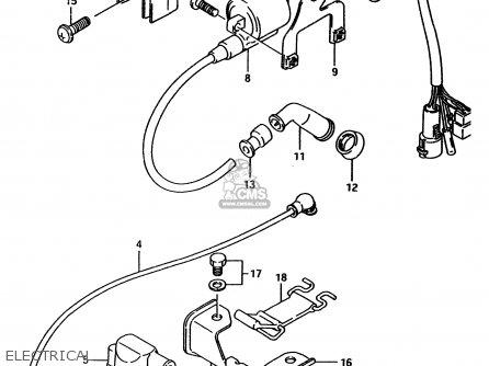 Suzuki Ltf4wd 1996 t Electrical