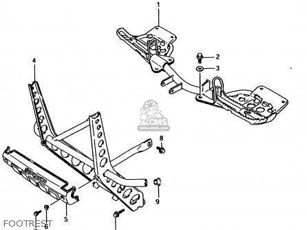 Suzuki Ltf4wd 1996 t Footrest