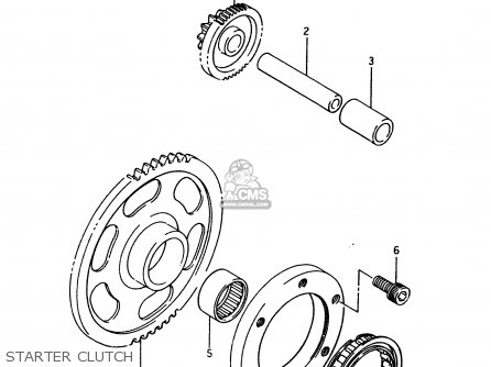 Suzuki Ltf4wd 1996 t Starter Clutch