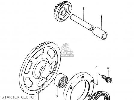 Suzuki Ltf4wd 1996 t United Kingdom Sweden Australia e02 E17 E24 Starter Clutch