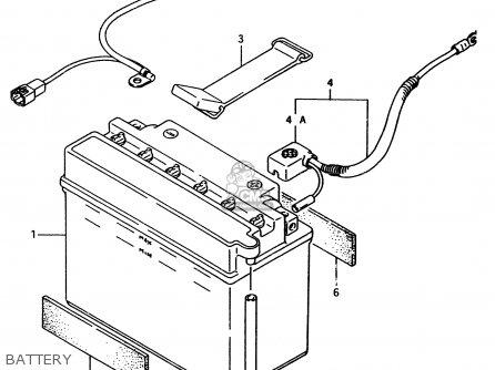 Suzuki Ltf4wd 1997 v Battery