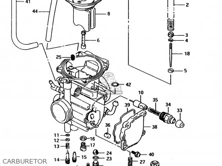 Suzuki Ltf4wd 1997 v Carburetor