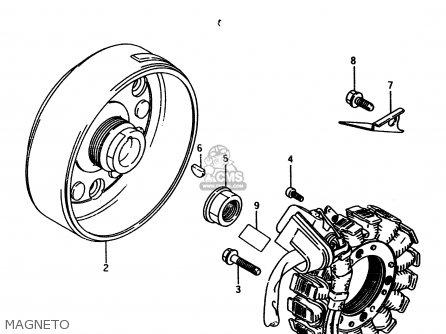 Suzuki Ltf4wd 1997 v Sweden Australia e17 E24 Magneto