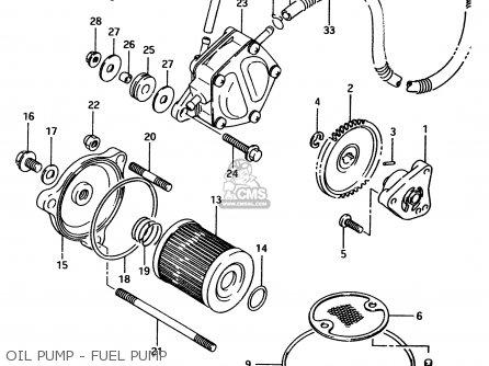 Suzuki Ltf4wd 1998 w Sweden Australia e17 E24 Oil Pump - Fuel Pump