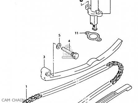 Suzuki Ltf4wdx 1991 m Cam Chain