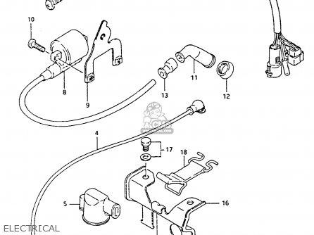 Suzuki Ltf4wdx 1991 m Electrical
