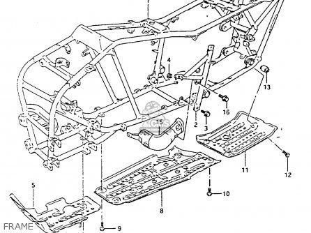 Suzuki Ltf4wdx 1991 m Frame