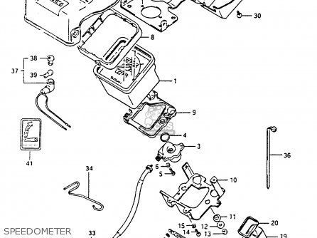 Suzuki Ltf4wdx 1991 m Speedometer