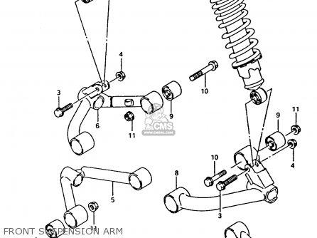 Suzuki Ltf4wdx 1994 r Front Suspension Arm