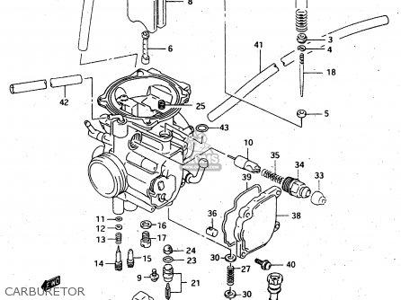 Suzuki Ltf4wdx 1997 v Carburetor