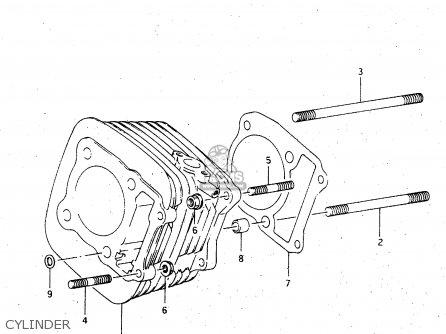 Suzuki Ltf4wdx 1997 v Sweden New Zealand e17 E27 Cylinder