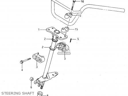Suzuki Ltf4wdx 1997 v Sweden New Zealand e17 E27 Steering Shaft