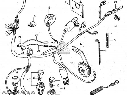 Suzuki Ltf4wdx 1997 v Sweden New Zealand e17 E27 Wiring Harness