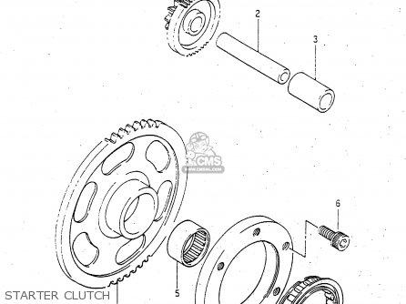 Suzuki Ltf4wdx 1998 w Starter Clutch