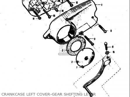 Suzuki M15 M15d M12 1968 Usa E03 Parts Lists And Schematics