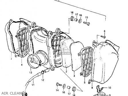 suzuki pe175 1982 z parts lists and schematics rh cmsnl com 1980 Suzuki Pe 175 1980 suzuki pe 175 wiring diagram