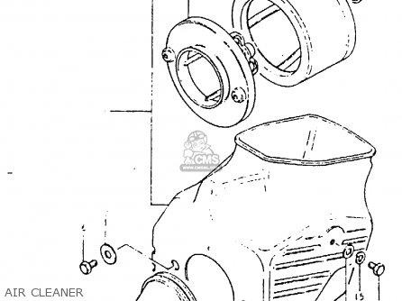 Suzuki Pe400 1981 X E01 E02 E06 E15 E24 Parts Lists And Schematics. Suzuki Pe400 1981 X E01 E02 E06 E15 E24 Air Cleaner. Suzuki. Suzuki Pe400 Wiring Diagram At Scoala.co
