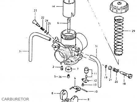 Suzuki Pe400 1981 X E01 E02 E06 E15 E24 Parts Lists And Schematics. Suzuki Pe400 1981 X E01 E02 E06 E15 E24 Carburetor. Suzuki. Suzuki Pe400 Wiring Diagram At Scoala.co