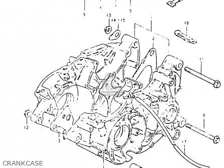 Suzuki Pe400 1981 X E01 E02 E06 E15 E24 Parts Lists And Schematics. Suzuki Pe400 1981 X E01 E02 E06 E15 E24 Crankcase. Suzuki. Suzuki Pe400 Wiring Diagram At Scoala.co