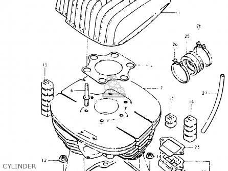 Suzuki Pe400 1981 X E01 E02 E06 E15 E24 Parts Lists And Schematics. Suzuki Pe400 1981 X E01 E02 E06 E15 E24 Cylinder. Suzuki. Suzuki Pe400 Wiring Diagram At Scoala.co