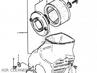 Suzuki Pe400 1981 X Usa E03 Parts Lists And Schematics. Suzuki Pe400 1981 X Usa E03 Air Cleaner. Suzuki. Suzuki Pe400 Wiring Diagram At Scoala.co
