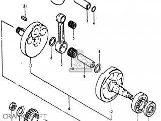 Suzuki Pe400 1981 X Usa E03 Parts Lists And Schematics. Suzuki Pe400 1981 X Usa E03 Crankshaft. Suzuki. Suzuki Pe400 Wiring Diagram At Scoala.co