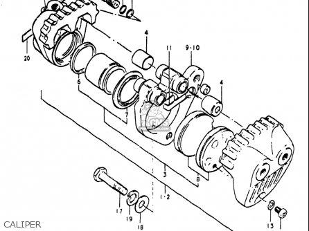 Suzuki Re5 Re5m Re5a 1975 1976 m a Usa e03   497cc Rotary Caliper