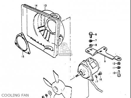 Suzuki Re5 Re5m Re5a 1975 1976 m a Usa e03   497cc Rotary Cooling Fan