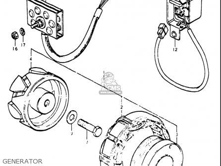 Suzuki Re5 Re5m Re5a 1975 1976 m a Usa e03   497cc Rotary Generator