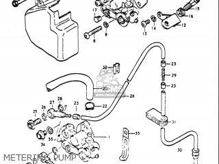 Suzuki Re5 Re5m Re5a 1975 1976 m a Usa e03   497cc Rotary Metering Pump