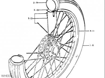 Suzuki Re5 Re5m Re5a 1975 1976 m a Usa e03   497cc Rotary Wheel