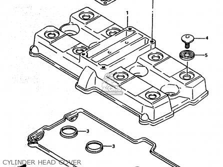 Suzuki Rf600r 1993 P E02 E04 E15 E17 E18 E21 E22 E24 E25 E34 E53